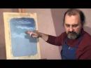 Александр Цвелик, Весна вод , весенний пейзаж пастелью из цикла Дыхание года , видеурок