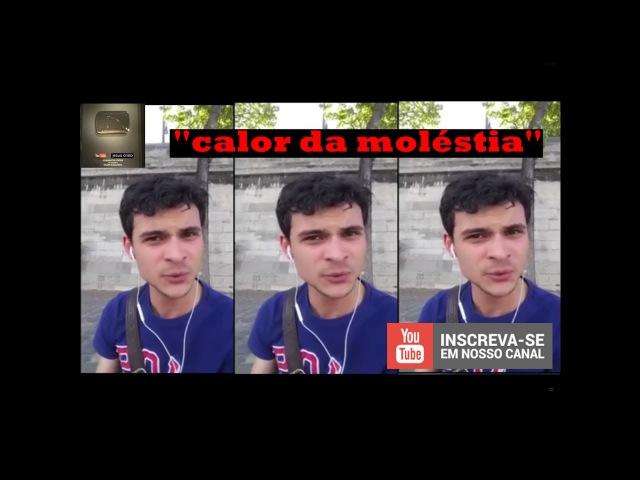 Cearense reclama de calor e mau cheiro em Paris e vídeo viraliza na web