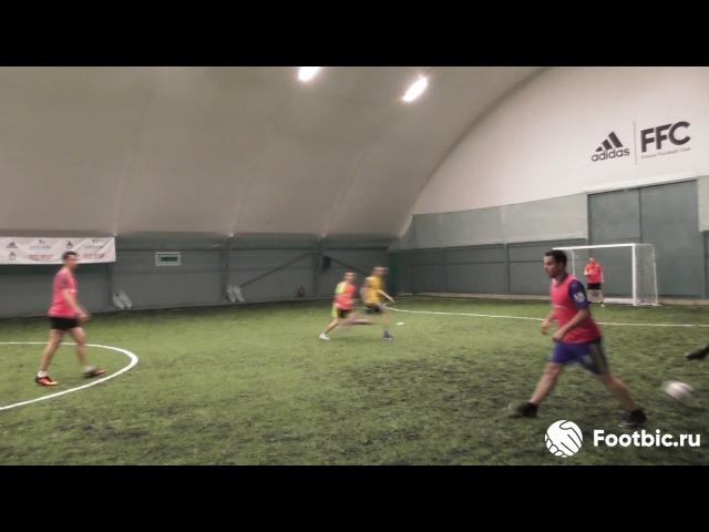 FOOTBIC.RU. Видеообзор 9.06.2017 (Метро Марьина Роща). Любительский футбол