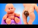 Малыш Обкакался пупс какает в горшок Кукла Пупсики Игрушки для девочек Дочки-Ма ...