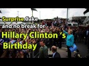Hillary Clinton Birthday Surprise Cake | Happy birthday Hillary Clinton