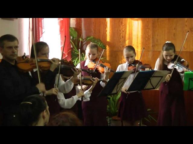 No Leaf Clover Металлика в исполнении ансамбля Концертино