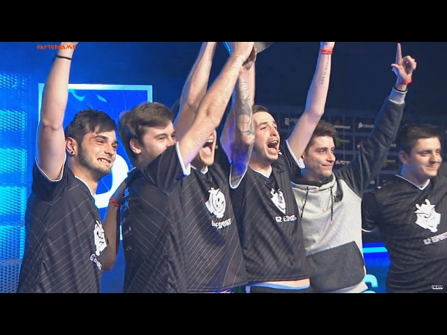 Dreamhack Astro 2017 tours G2 Esports are the champions! Winning moment 2:0 vs HR AfterGame