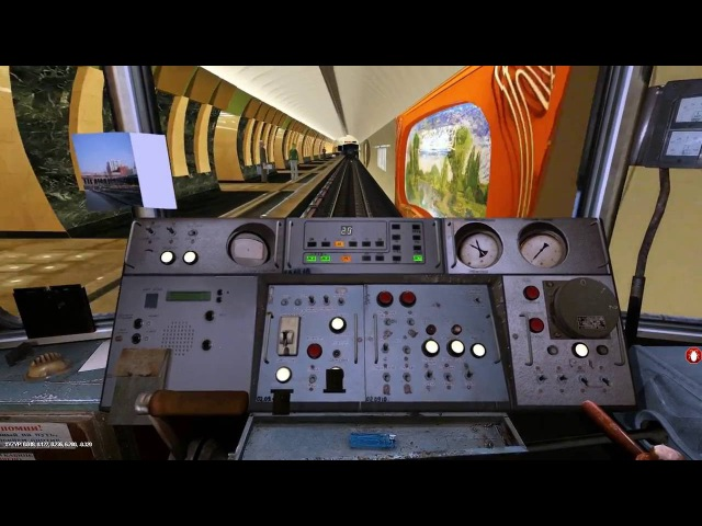 Метрополитен .Trainz Simulator 2012 Марьина Роща-до Зябликово.