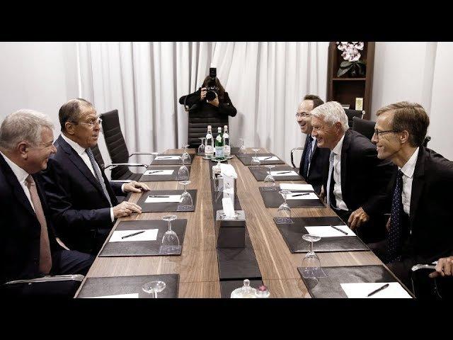 С.Лавров и Генеральный секретарь Совета Европы Т.Ягланд | Sergey Lavrov Thorbjørn Jagland