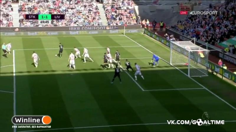 ГолТВ рф Сток Сити Ливерпуль 1 1 Фелипе Коутиньо