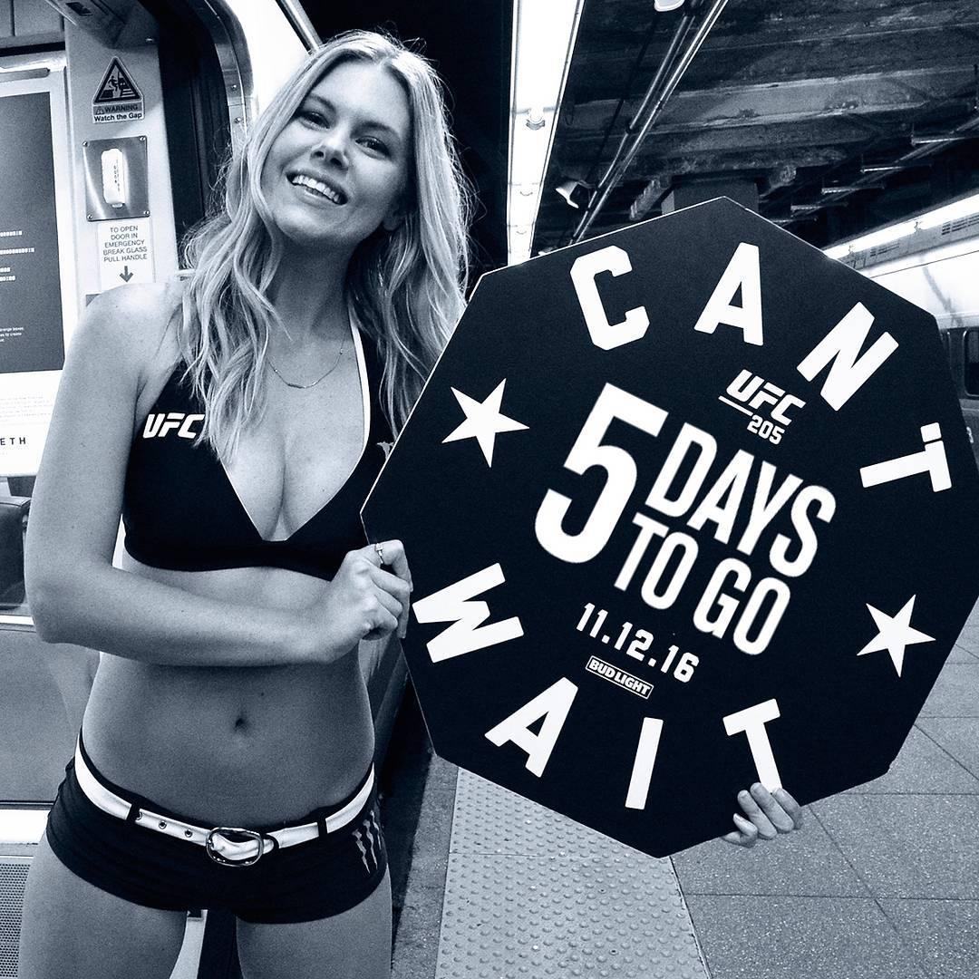 5 дней до UFC 205