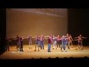 Образцовый ансамбль танца Апельсин. Танец с чемоданами. май 2017