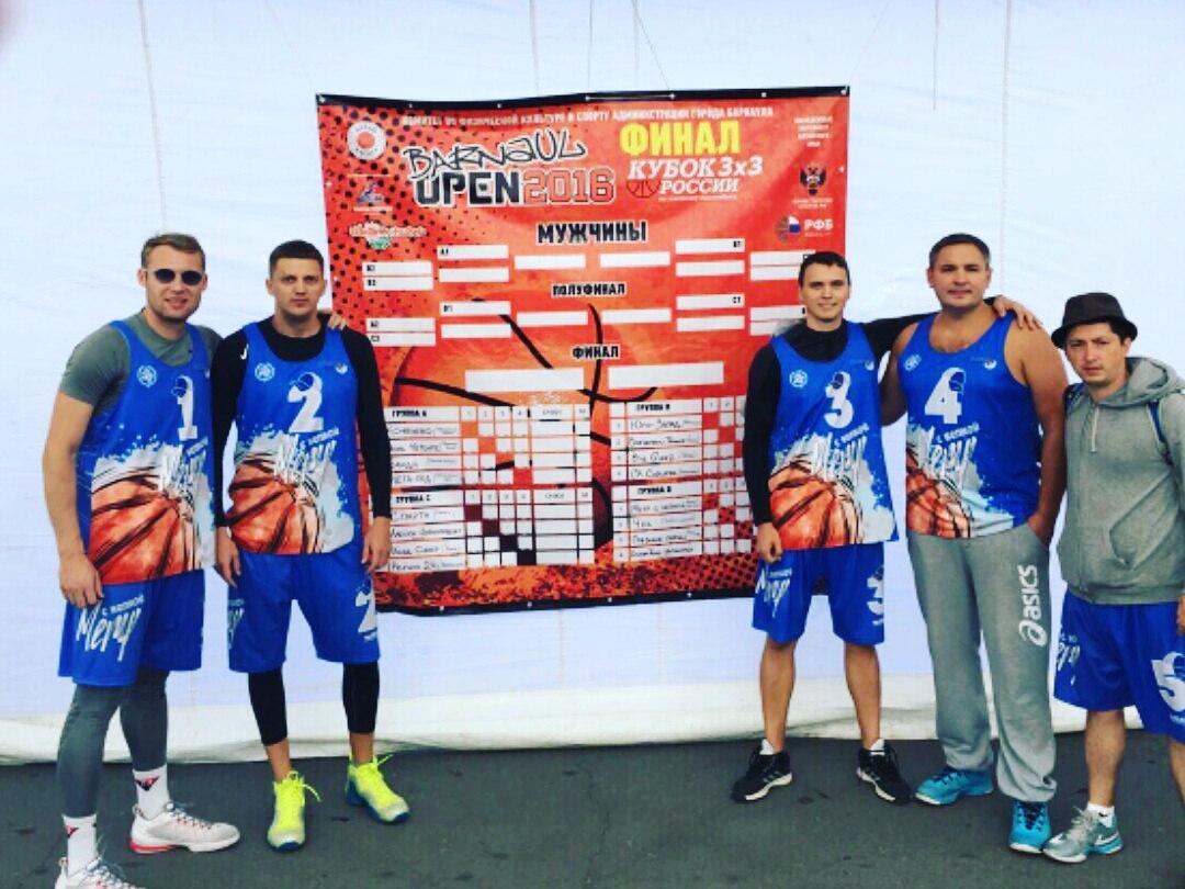 Метр с кепкой - бронзовые призеры Кубка России 3х3!