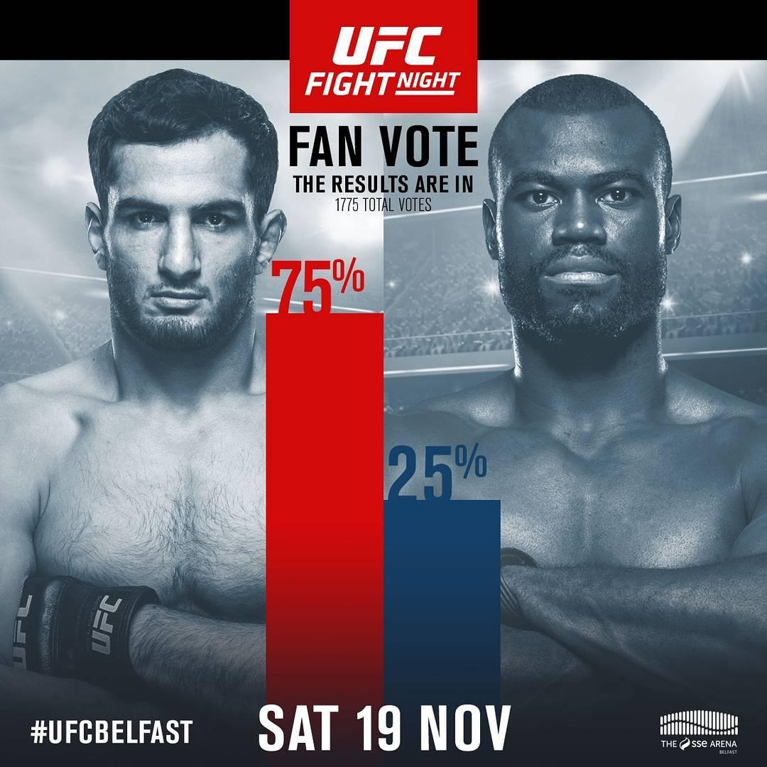 75% фанатов отдают победу Гегарду Мусаси в реванше на UFC Fight Night 99