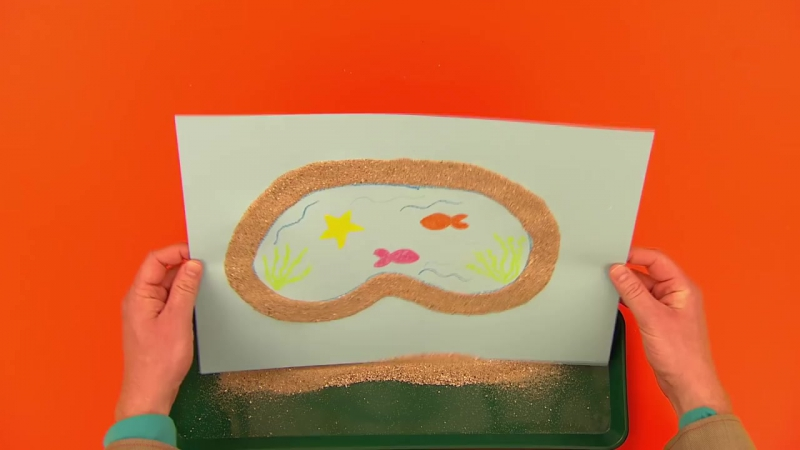 How to Make a Rockpool _ Arty Party _ Mister Maker topnotchenglish