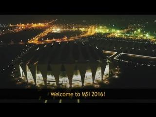 Церемония открытия MSI 2017