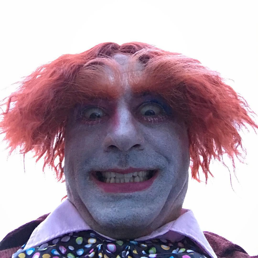 Джо Роган на Хеллоуин