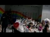 Бумажная дискотека. Танцевальная академия Flexx 5