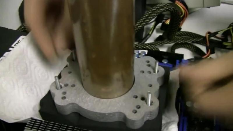 разгон жидкий азот экстрим разгон AMD Phenom II X4 965 C3 @ 7040 MHz LN2 unlimpc ruvk.com/public137102618