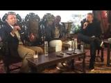2017_апрель, 28 @Filmandtvnut talks with #GuyRitchie, @djimonhounsou and #CharlieHunnam at the junket for @kingarthurmovie