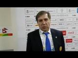 Тренер сборной Казахстана Сергей Старыгин. Интервью для усть-каменогорских болельщиков