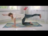 Йога для начинающих: Комплекс упражнений  для поясницы