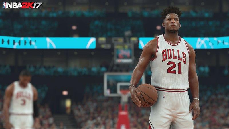 NBA 2K17 (2016) PC - Скриншот 1