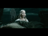 Хоббит: Битва Пяти Воинств | The Hobbit: The Battle of the Five Armies (2014) Галадриэль против Саурона