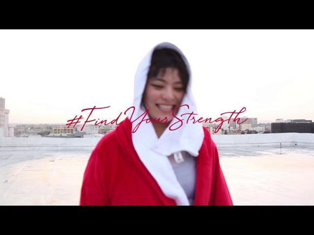 Behind the Scene Koharu Sugawara FindYourStrength | ULTIMUNE | Shiseido