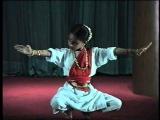 Bharatanatyam Alarippu by Dancer Sharanya Chandran, daughter and disciple of Geeta Chandran
