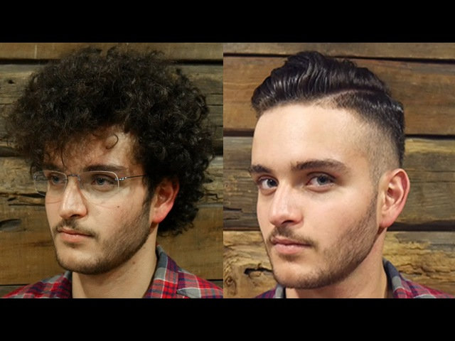 Extreme makeover transformation for men hair hairstyles with beard trim Spring 2017| Long to short