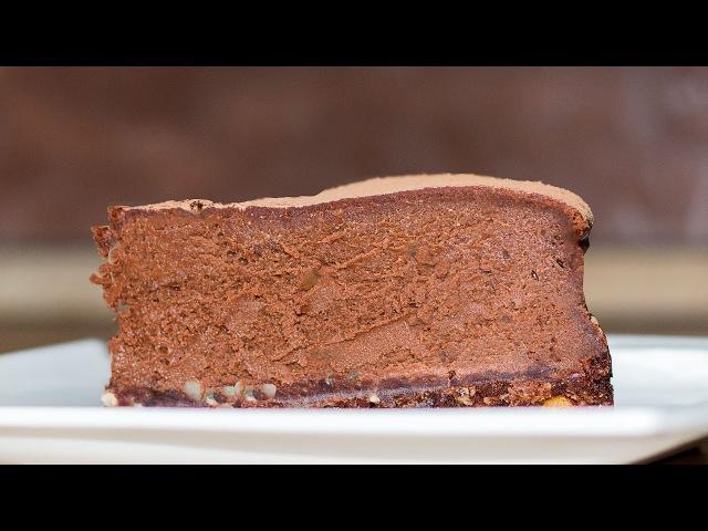 Необычный ШОКОЛАДНЫЙ ТОРТ (пирог, чизкейк) | Chocolate Cake (Cheesecake)