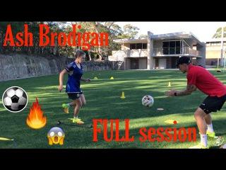 FULL training session with WPL player Ash Brodigan - Soccer Drills - Joner 1on1