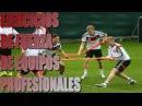 Ejercicios de fuerza de equipos profesionales de fútbol At Madrid Bayern PSG