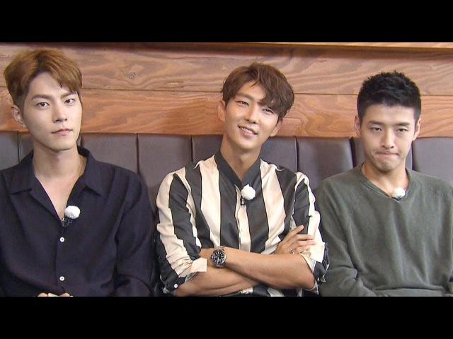 이준기·홍종현·강하늘, 만화찢고 나온 꽃황자들 《Running Man》런닝맨 EP446