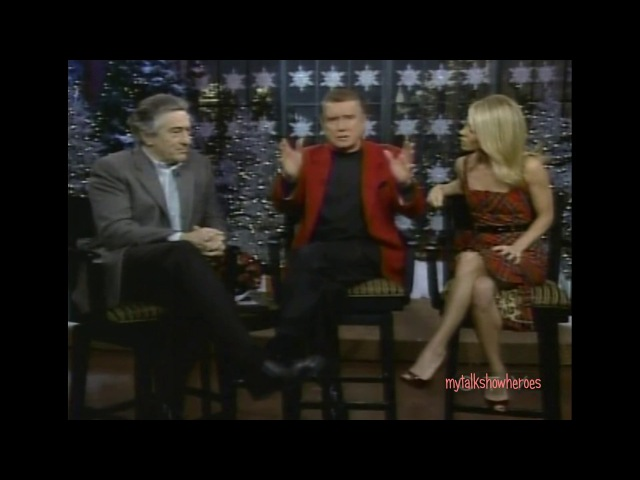 ROBERT DE NIRO HAS FUN WITH REGIS KELLY (2006)