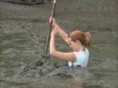 Sinking in mud