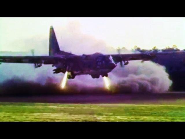Неудачный тест C-130 YMC-130H