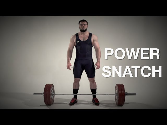 Power SNATCH / weightlifting crossfit