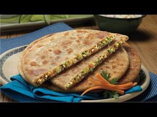 How to make mix vegetable Paratha recipe in hindi (कैसे mixx सब्जी पराठा बनाने)