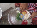 Cooking White Onion Chutney in Village Traditional Food
