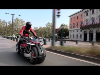 LM847 - LAZARETH - V8 ENGINE POWERED MOTORCYCLE - Test Drive in Annecy