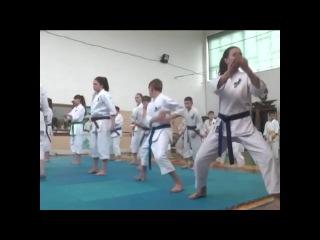 Каратисты ЛНР (Лутугино) на открытом чемпионате в РФ 2017 год