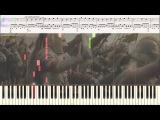 Heart of Courage - Thomas J. Bergersen (Ноты и Видеоурок для фортепиано) (piano cover)