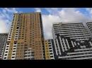 Zvezdaforum ЖК Золотая звезда - фасады монтируют по всем высоткам