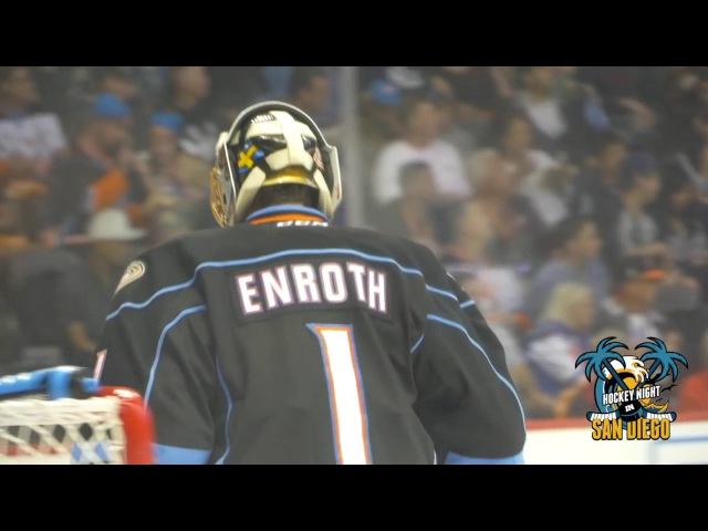 Jhonas Enroth Highlights Game 5 Gulls vs Reign
