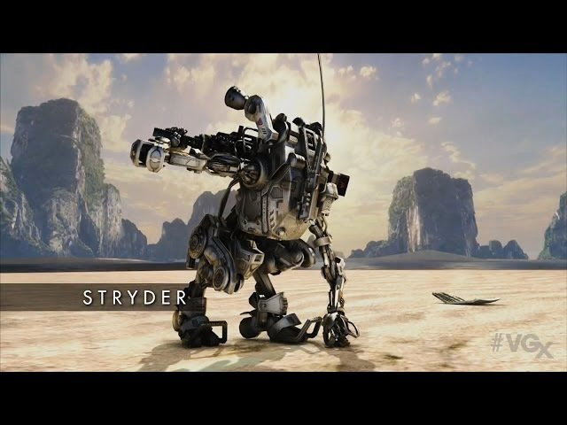 Titanfall Stryder Official Gameplay Trailer (VGX 2013 HD)