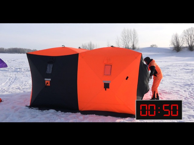Зимняя палатка куб от Команды Ex-Pro