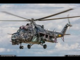 The Alien Tiger - Mi-3524V of Czech Air Force FHD 50p