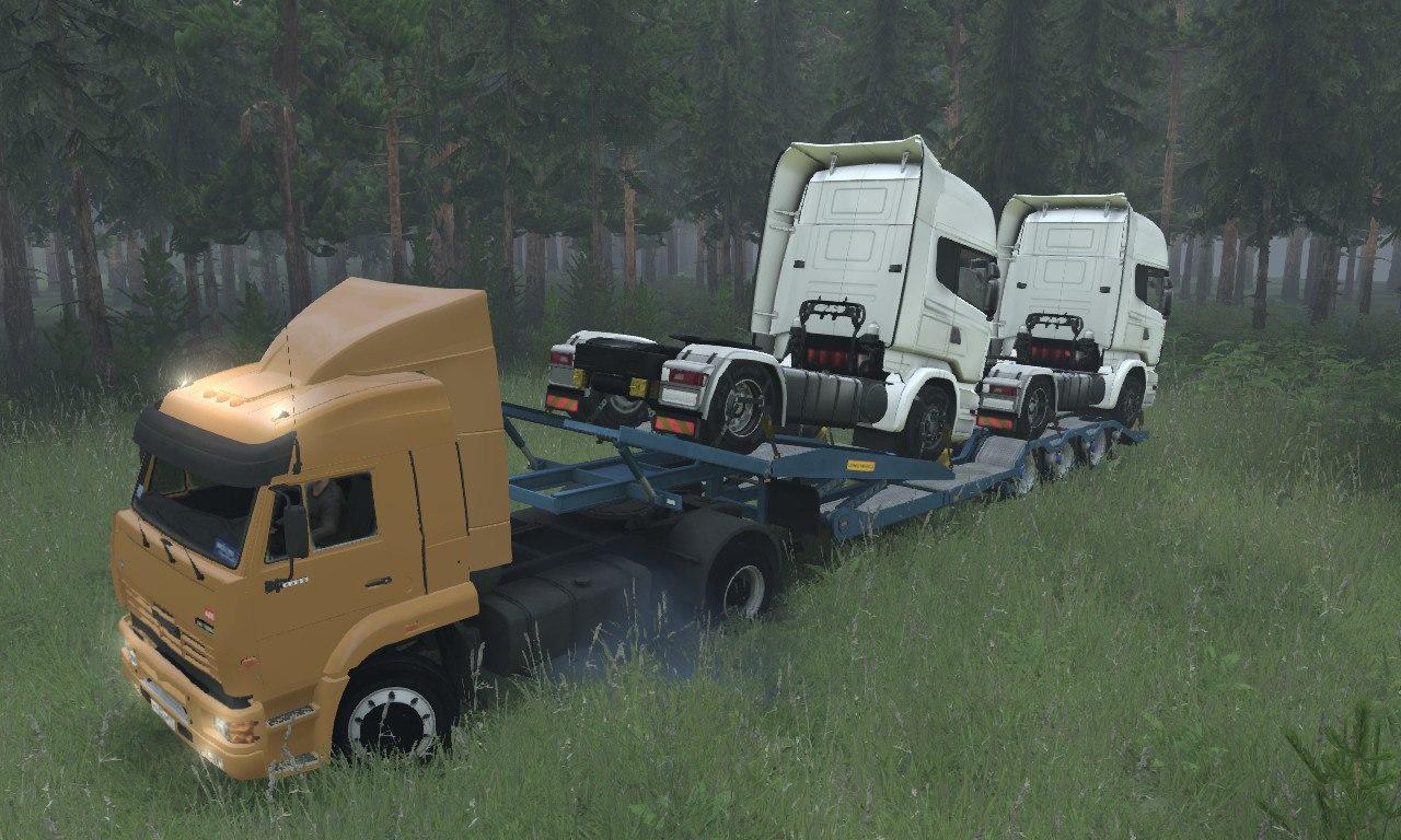 КамАЗ-5460 4x4 для 03.03.16 для Spintires - Скриншот 3