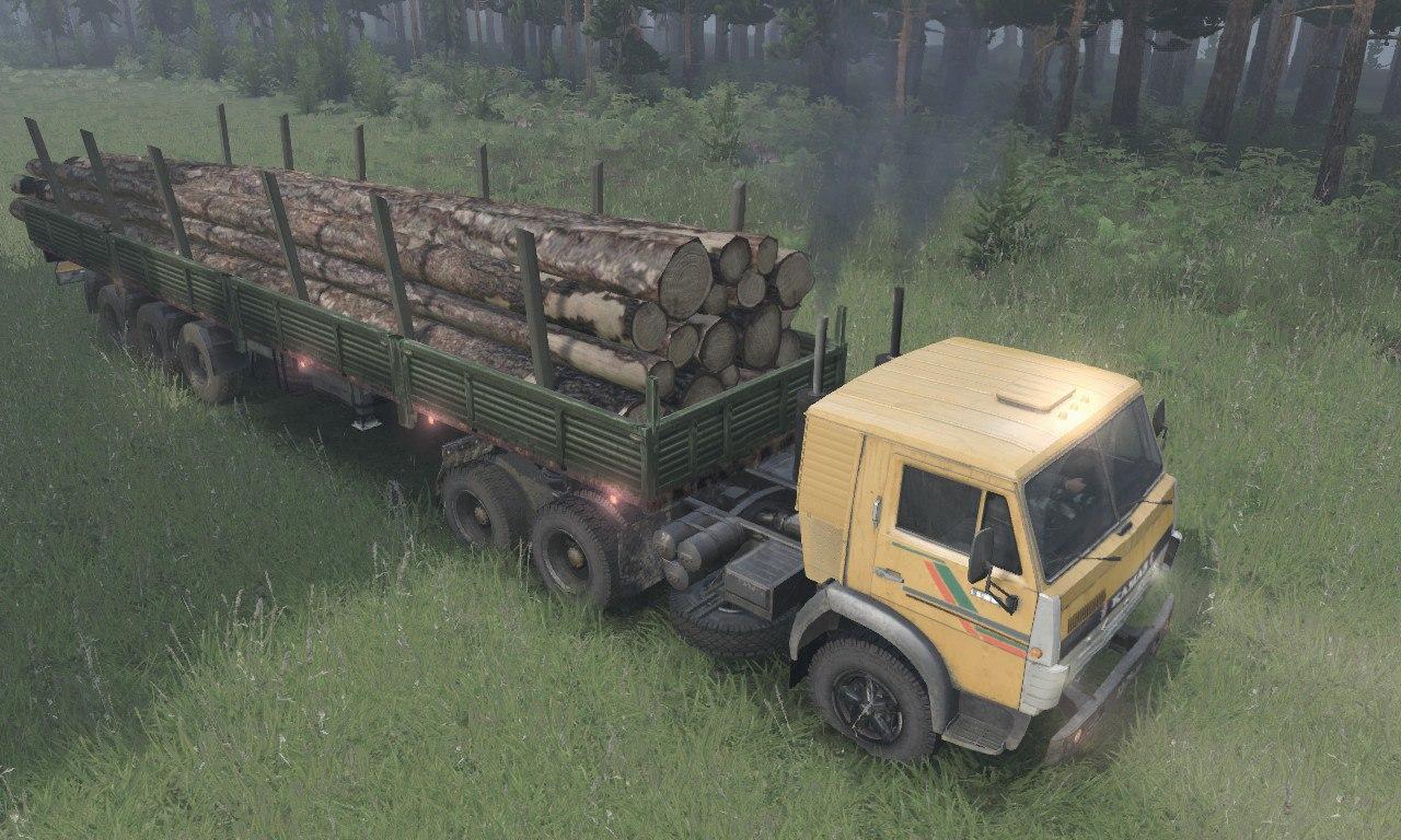 КамАЗ-5511 6x4 для 03.03.16 для Spintires - Скриншот 3