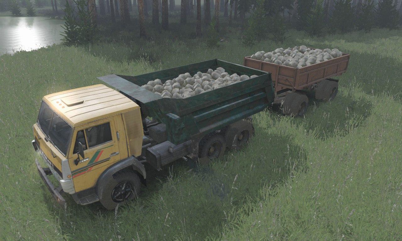 КамАЗ-5511 6x4 для 03.03.16 для Spintires - Скриншот 1