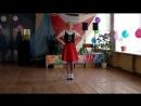 Конкурс Танцующий попугай 2017 Танец Русиновой Елизаветы Немецкая полька I место