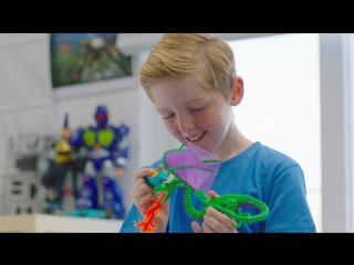 Первая детская 3D ручка 3Doodler Start